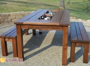 Mẫu bộ bàn ghế phong cách cổ điển BG27