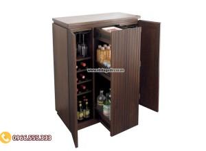 Mẫu tủ rượu vang thông minh đa năng TBR21