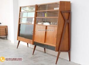 Mẫu tủ đựng đồ trang trí phòng khách TV02