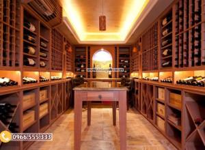 Nhiệt độ tốt nhất để bảo quản rượu vang là bao nhiêu?