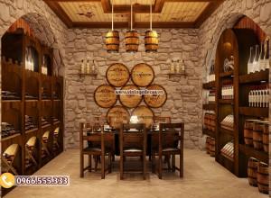 Tại sao nên thiết kế nhà hàng hầm rượu ?