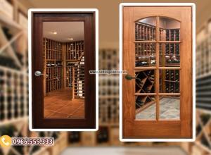 Tổng hợp thiết kế cửa hầm rượu vang đẹp phần 1