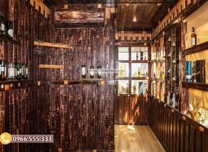Mẫu thi công hầm rượu nhà hàng đẹp BR69
