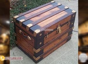 Mẫu rương chứa đồ cổ điển đẹp RG08