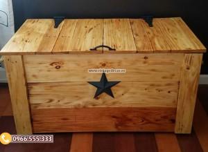 Mẫu rương gỗ trang trí đa năng RG18