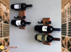 Mẫu kệ rượu vang treo tường TBR185