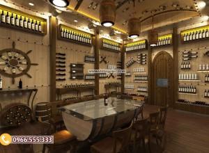 Thiết kế nhà hàng hầm rượu mang đến những lợi ích gì cho năm 2019