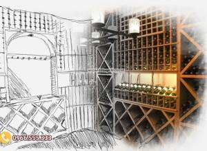Cách xây dựng nhà hàng hầm rượu