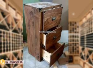 Mẫu tủ rương gỗ thông để đồ RG88
