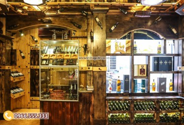 Mẫu thi công nhà hàng hầm rượu vang đẹp BR79