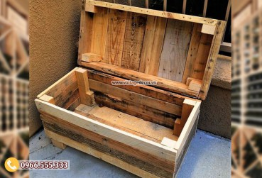 Mẫu rương gỗ nhỏ để đồ tiện ích RG51