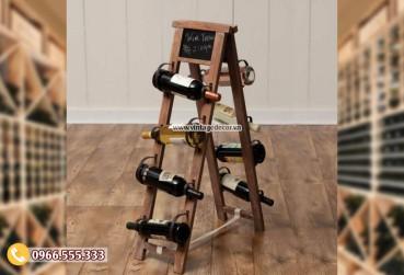 Mẫu kệ rượu vang phong cách cổ điển TBR194