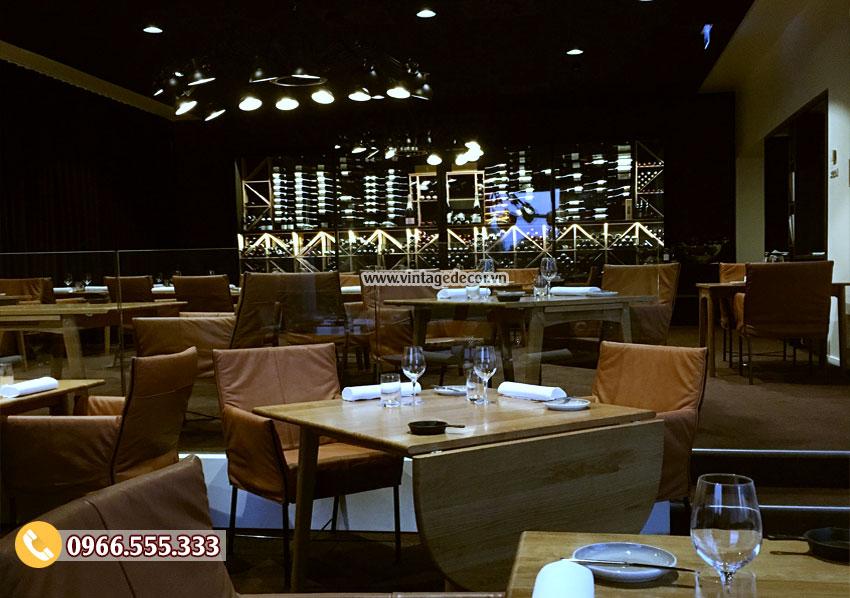 Mẫu nhà hàng rượu vang đẹp BR17