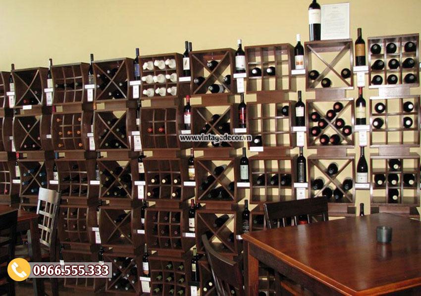 Mẫu thiết kế nhà hàng rượu vang độc đáo BR07