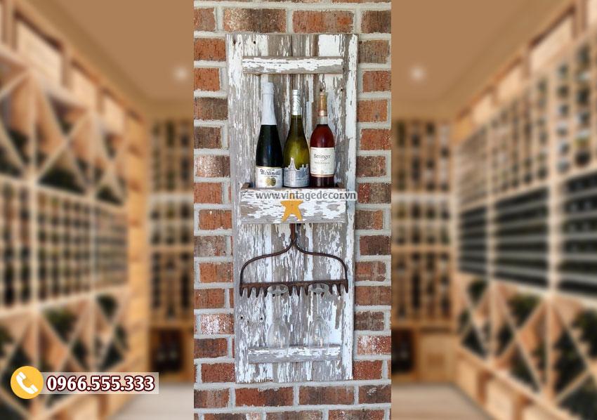 Mẫu kệ rượu cổ điển KR81