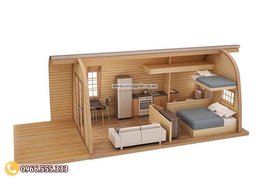 Mẫu bản vẽ thiết kế nội thất mái vòm NB27