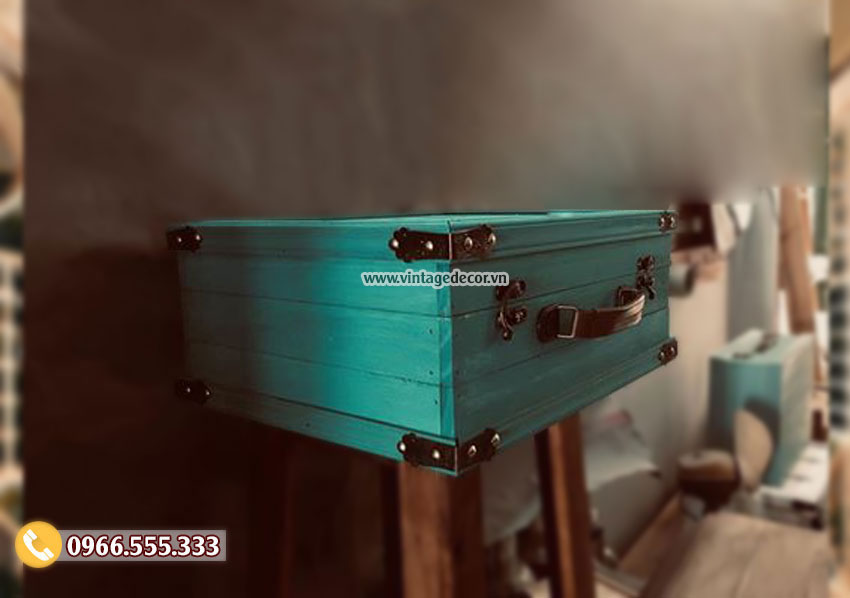 Mẫu rương gỗ thông để đồ tại hà nội RG97