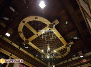 Mẫu thi công nhà hàng hầm rượu cổ điển BR82