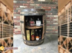 Mẫu thùng tủ để rượu KR59