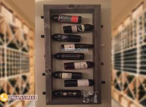 Mẫu kệ rượu vang đơn giản TBR181