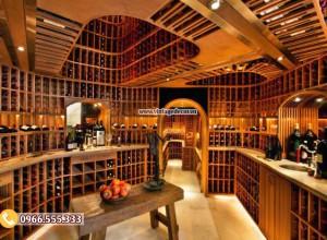 Mẫu hầm rượu vang lưu trữ số lượng lớn HR101