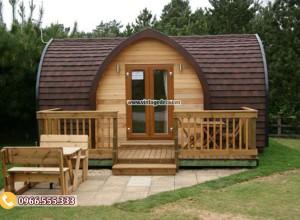 Mẫu thiết kế homestay bungalow tại khu nghỉ dưỡng NB72