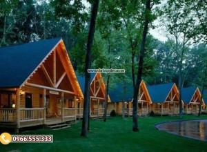 Mẫu bungalow homestay nhà cấp 4 bến rừngNB78