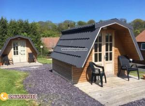 Mẫu bungalow di động thông minh phong cách tây âu NB79