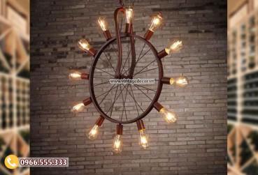 Mẫu đèn ngược thời gian trang trí tại hà nội DG100