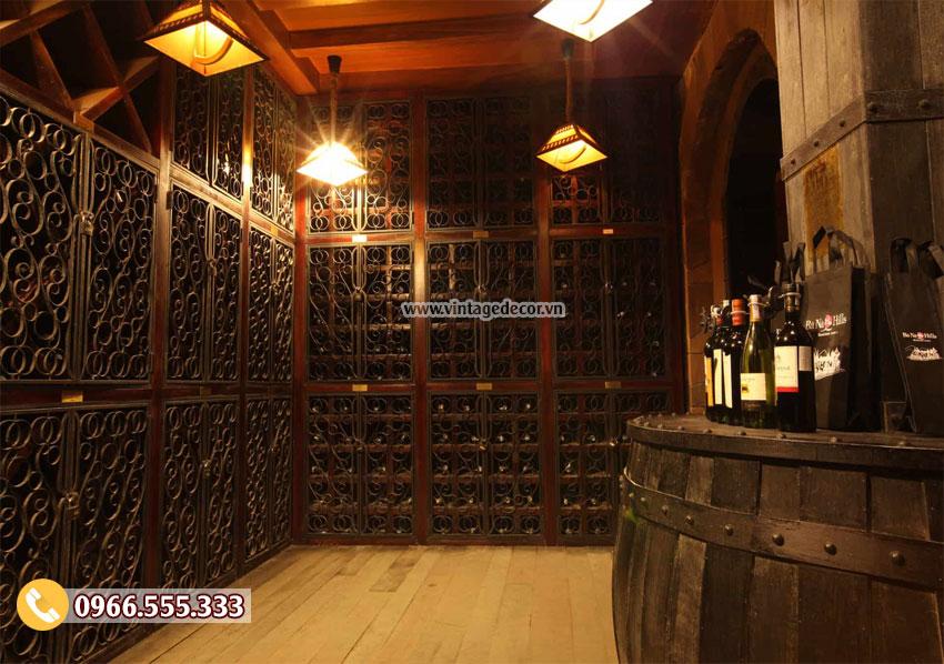 Thiết kế hầm rượu vang chuyên nghiêp