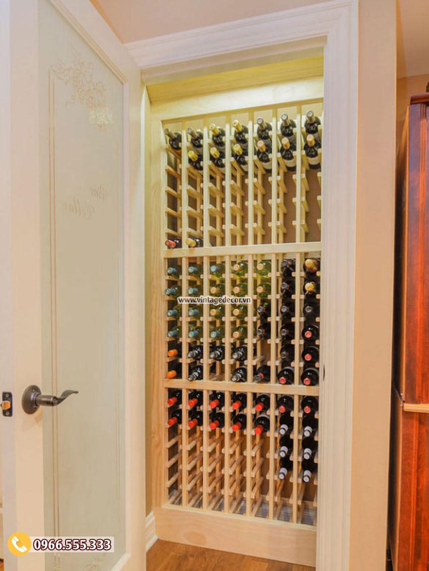 6 Lưu ý khi thiết kế hầm rượu vang trong nhà