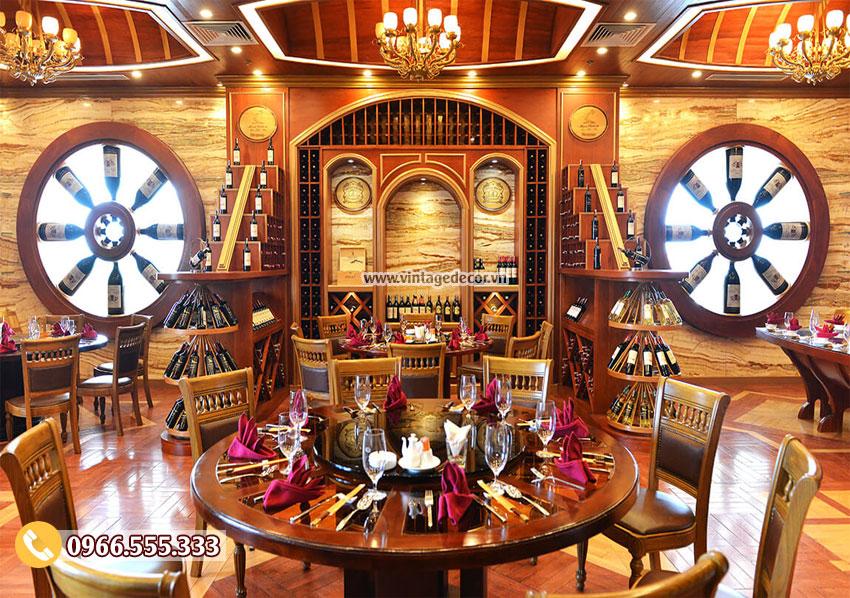 Mẫu nhà hàng rượu vang đẳng cấp 5 sao BR13