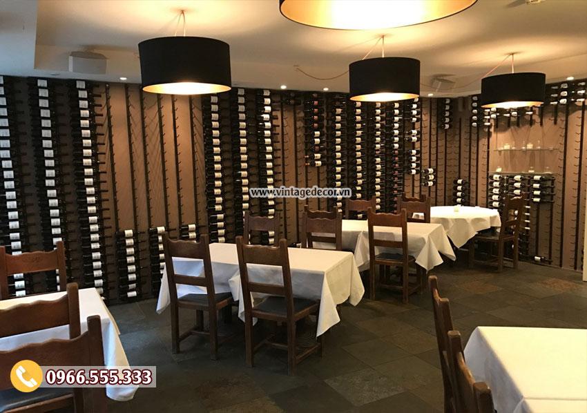 Mẫu nhà hàng rượu vang đẳng cấp BR18