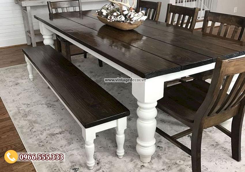 Mẫu bộ bàn ăn phong cách cổ điển BG16