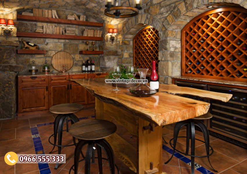 Mẫu thiết kế hầm rượu vang đẹp HR21