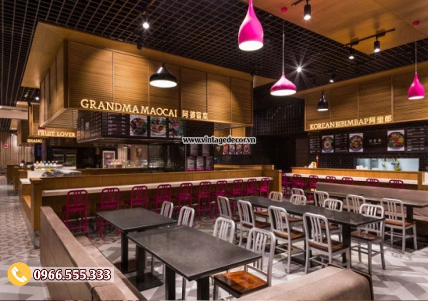 Mẫu nhà hàng rượu vang phong cách châu âu đẹp BR11