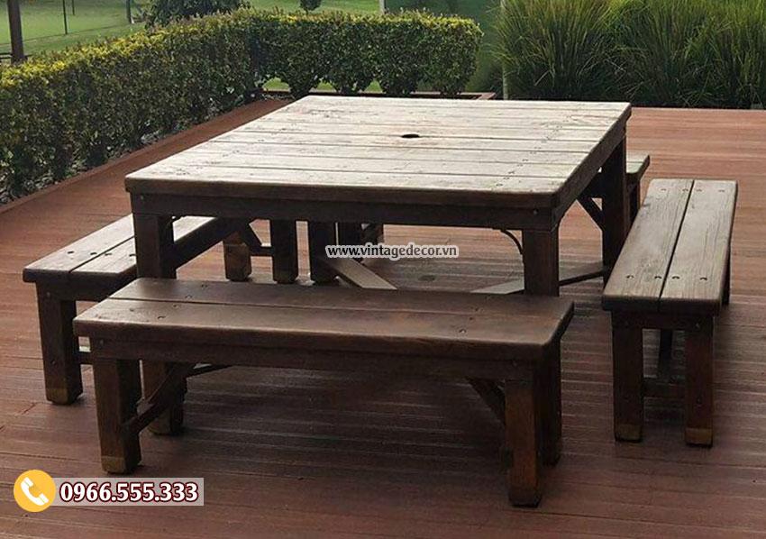 Mẫu bàn ghế phong cách cổ điển BG44