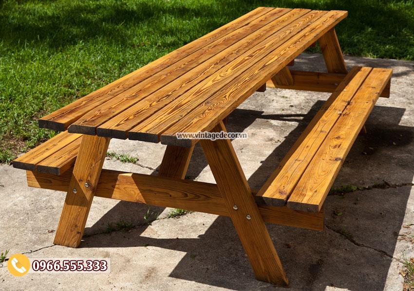 Mẫu bộ bàn liền ghế thông mình BG62