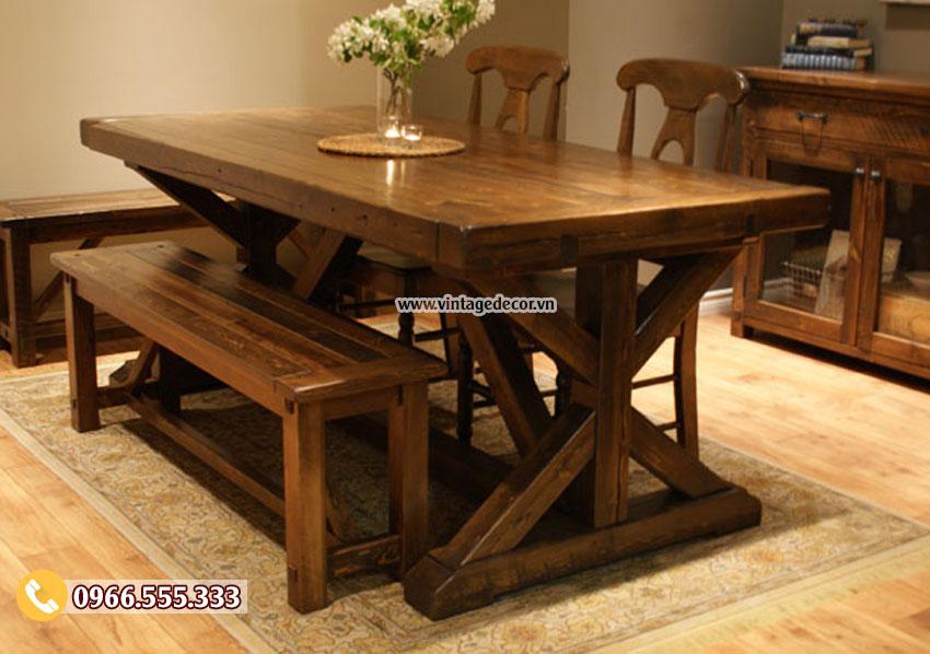 Mẫu bàn ghế nội thất trang trí gia đình đẹp BG59
