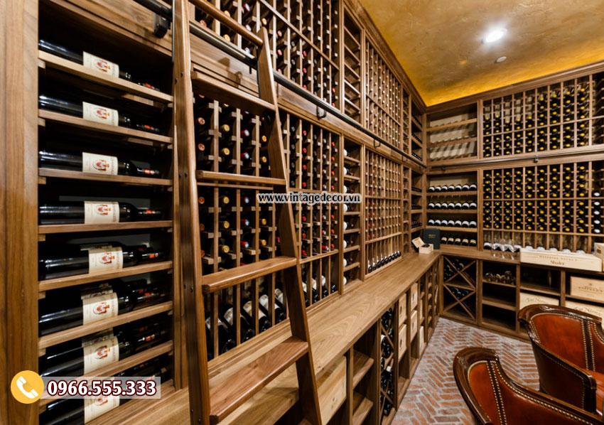 Mẫu thiết kế phòng Vip nhà hàng rượu vang BR37