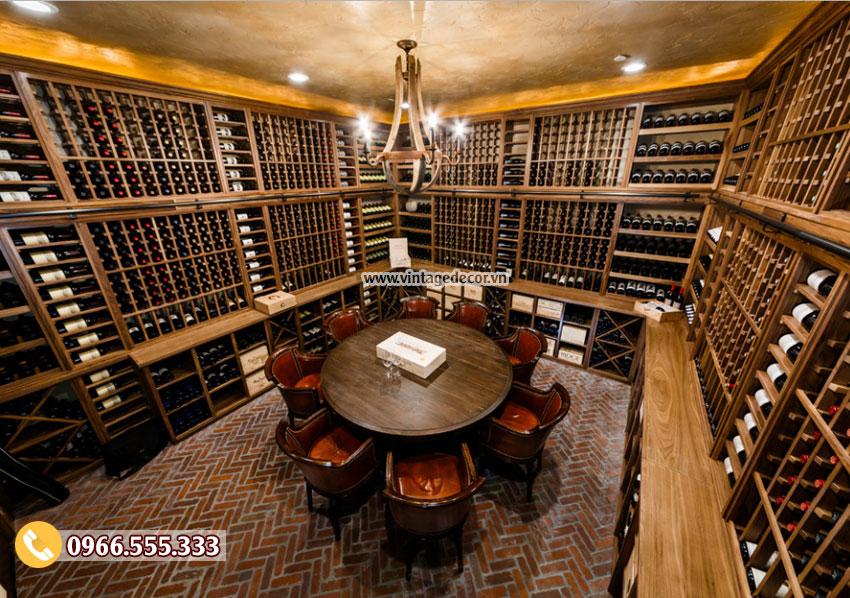Thiết kế hầm rượu vang bảo vệ bộ sưu tập rượu vang của bạn như thế nào?