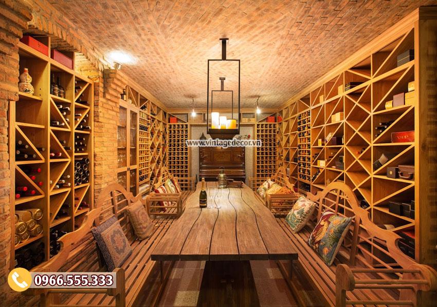 Mẫu thiết kế phòng Vip nhà hàng rượu vang BR33
