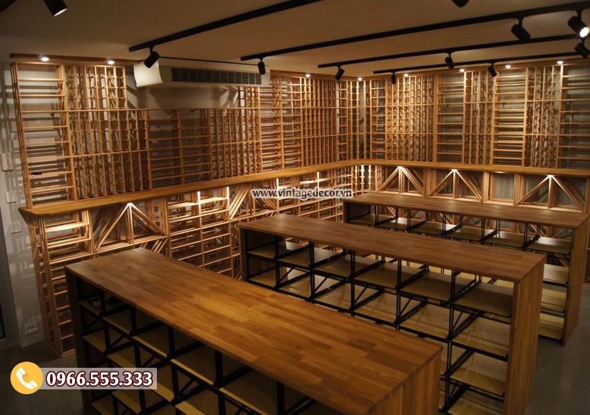Mẫu xây dựng hầm lưu trữ rượu vang đẹp HR92