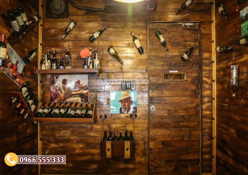Mẫu thiết kế nhà hàng rượu vang đẹp BR71