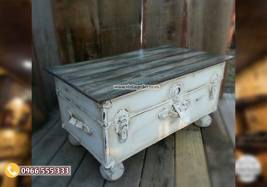 Mẫu hộp rương phong cách cổ điển RG23