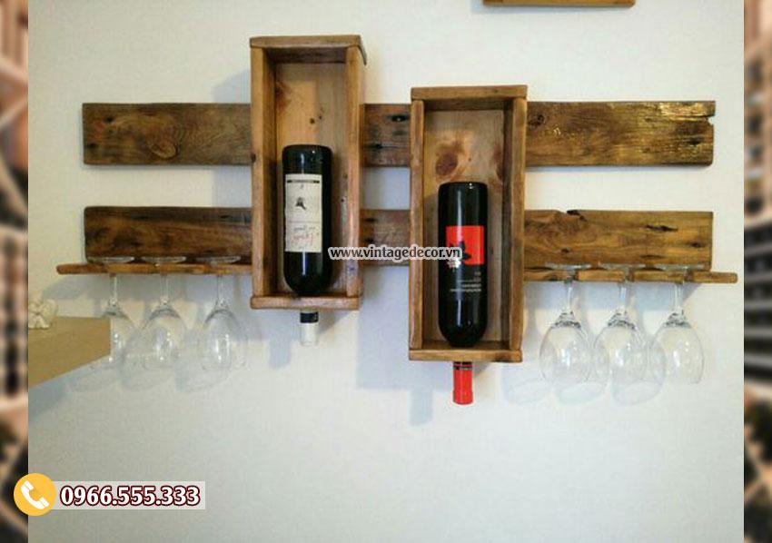 Mẫu kệ rượuphòng kháchgỗ công nghiệp TBR101