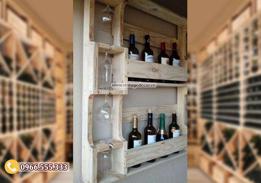 Mẫu kệ tủ rượuđẹp hiện đại TBR110