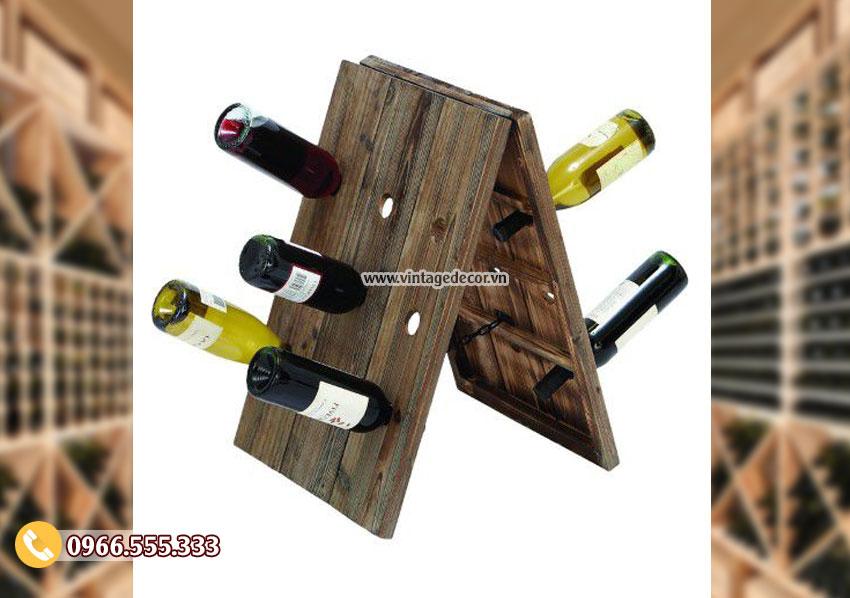 Mẫu kệ rượu đơn giản TBR134