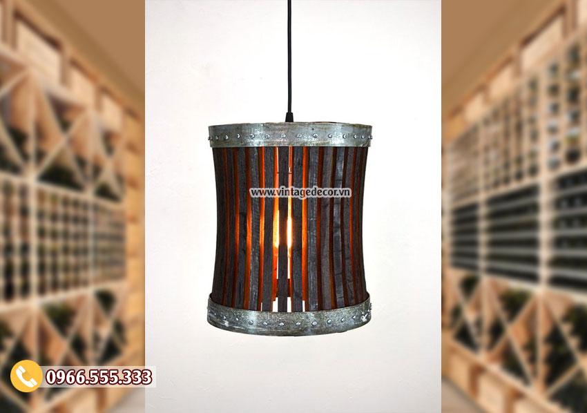 Mẫu đèn treo tường ngược thời gian DG013
