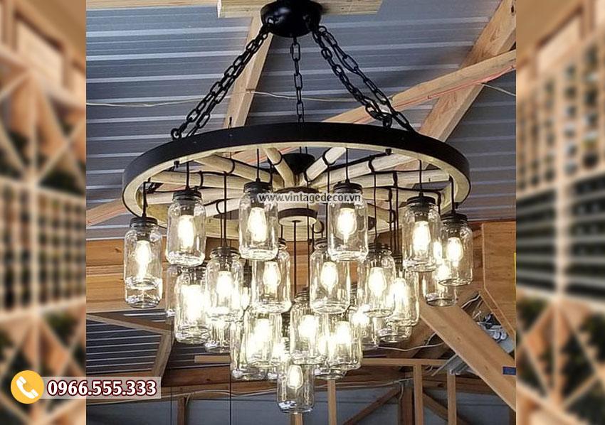 Mẫu đèn trang trí phong cách cổ điển DG050